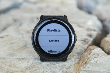 Garmin-Vivoactive3-Music-LIbrary-Options