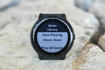 Garmin-Vivoactive3-Music-Library