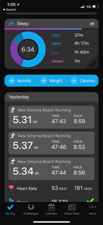 Thursday Tech Tidbit: Garmin Rolls Out Sleep Cycle Details