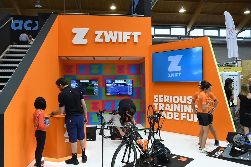 Zwift Tidbits from Eurobike: New course specifics, real-life