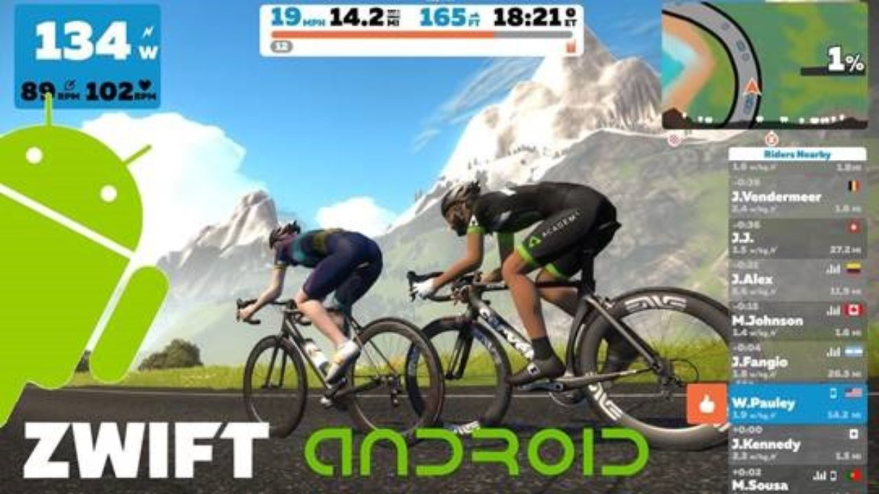 Zwift Available Now on Android in Beta | DC Rainmaker