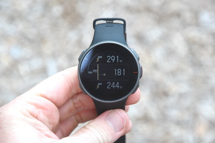 3953e71cb31f87 The running power is displayed on what appears to be about a 10-second  smoothed average. I based that on how long it took when I stopped running  for the ...