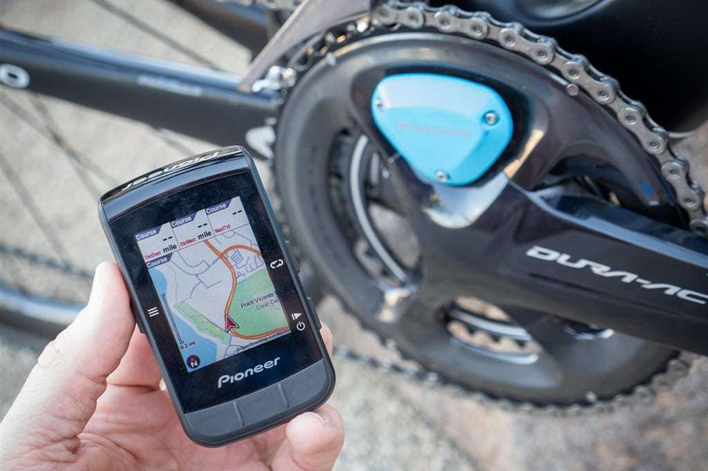 Gps Bike Computer >> Pioneer Announces New Color Mapping Gps Bike Computer Plus