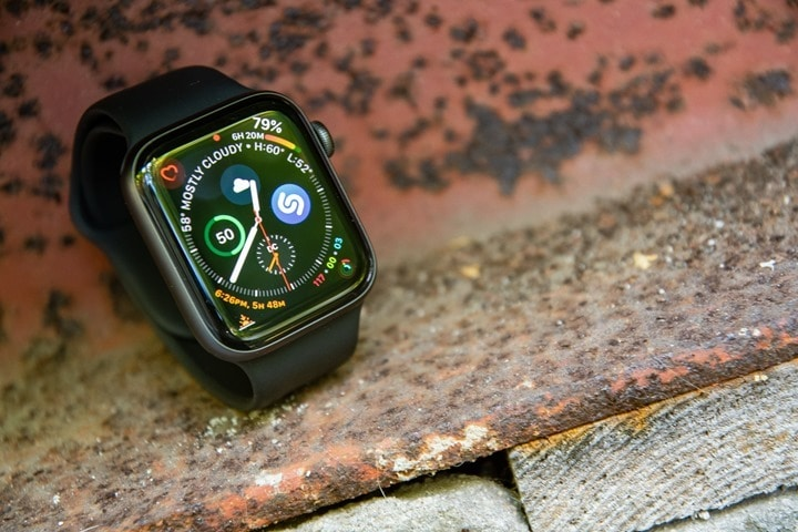 af9e223b05c4 Apple Watch Series 4: Sports & Fitness In-Depth Review | DC Rainmaker