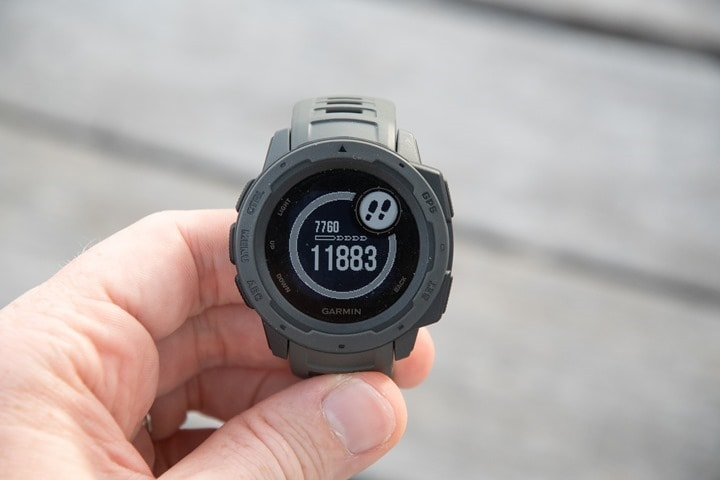 Garmin Instinct GPS Watch In-Depth Review | DC Rainmaker