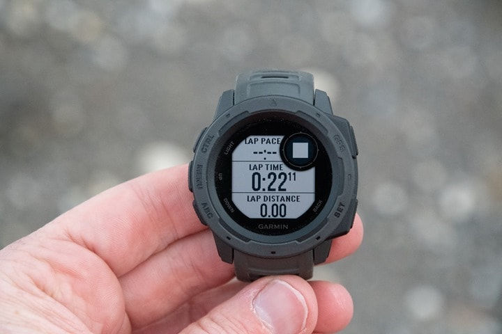 Garmin Instinct GPS Watch In-Depth Review  c267a24403b