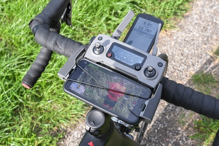 DJI-Mavic2-Mounted-To-Bike