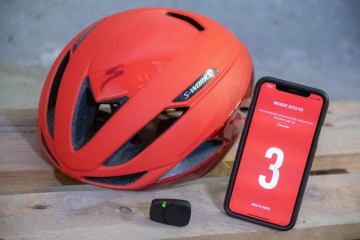 Hands-on: Specialized ANGi Helmet Crash Sensor | DC Rainmaker