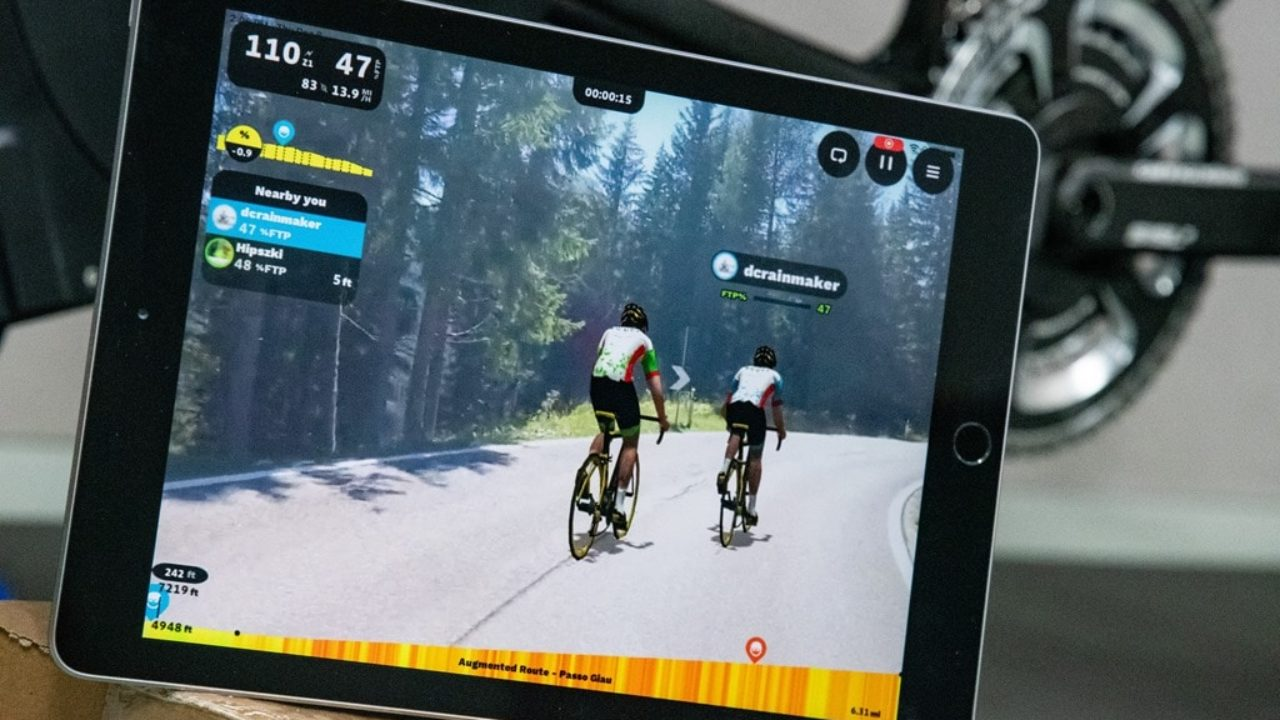 Rouvy Rolls Out Augmented Reality Indoor Training Feature | DC Rainmaker