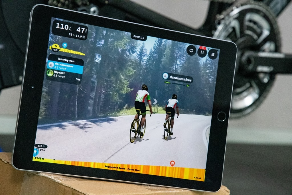 Rouvy Rolls Out Augmented Reality Indoor Training Feature
