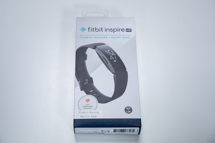 Fitbit Inspire HR Activity Tracker In-Depth Review | DC Rainmaker