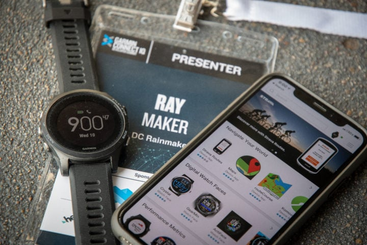 Garmin Connect IQ Summit–Day 1 Announcements | DC Rainmaker