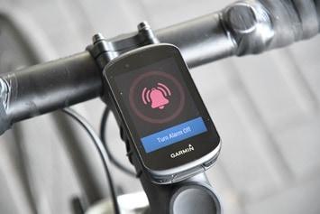 Garmin-Edge530-Bike-Alarm-Triggered
