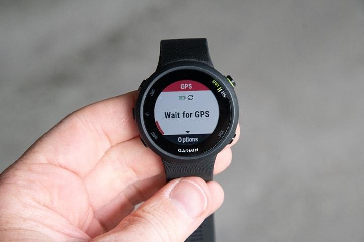 877bc78bc Garmin Forerunner 45/45S GPS Watch In-Depth Review | DC Rainmaker