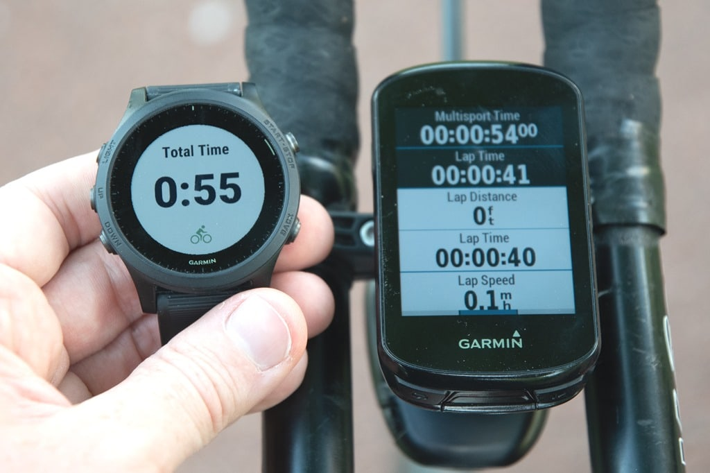 How to: Garmin's Semi-Secret Triathlon Display Mode (aka 'Extended