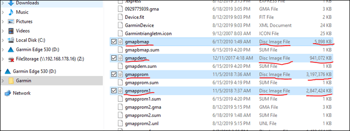 Remove Power From Fit File