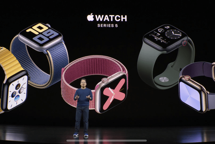Apple's Series 5 Watch Will Have Always-on Display, drops